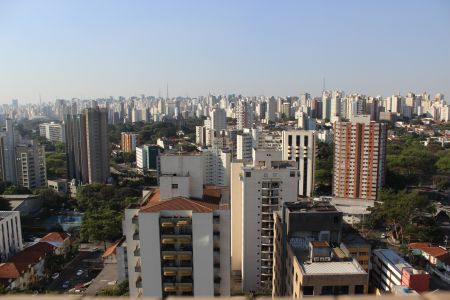 Vista do 18º Andar - Janela do Apartamento